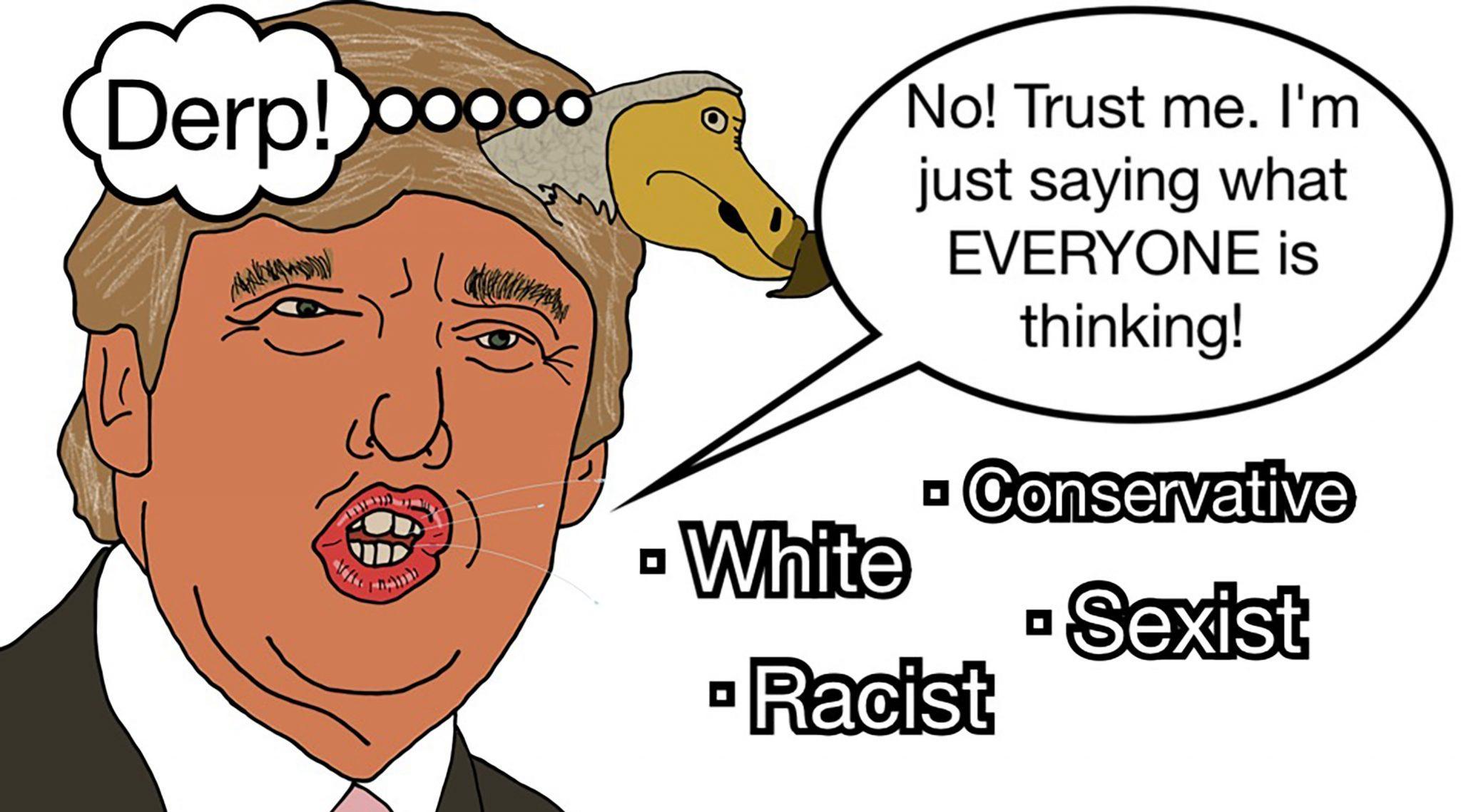 Cartoon by Mick Donovan