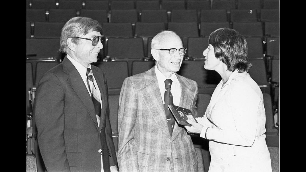 Photo courtesy of PCC Archives/Shatford Library Dorothy Kolts at Pasadena City College.